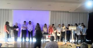 Premiats, finalistes i membres del jurat (Fotografia: Esther Llobet i Díaz)