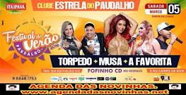 CLUBE ESTRELA DO PAUDALHO - FESTIVAL E VERÃO 2016.