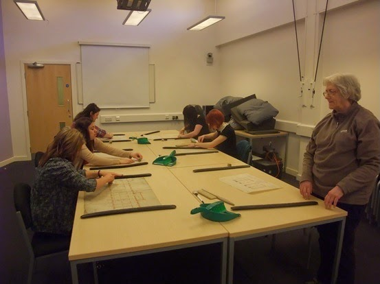 Cleaning Atkinson Brierley drawings