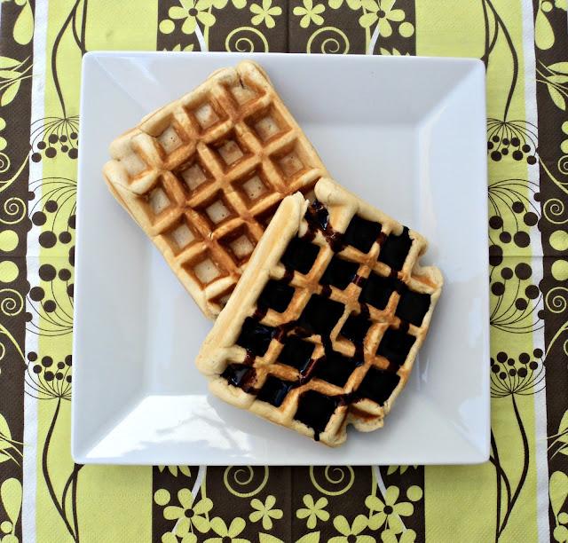 receta casera gofres chocolate