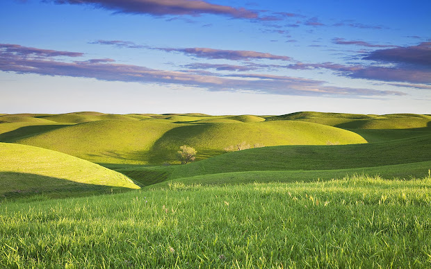 wallpapers grassy hills
