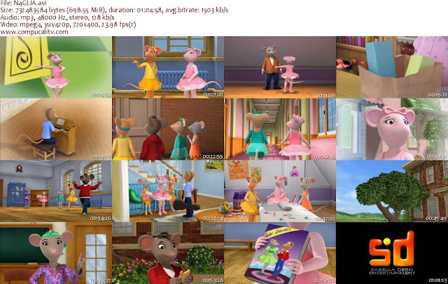Angelina Ballerina The Nutcracker Sweet DVDRip Latino Descargar 1 Link