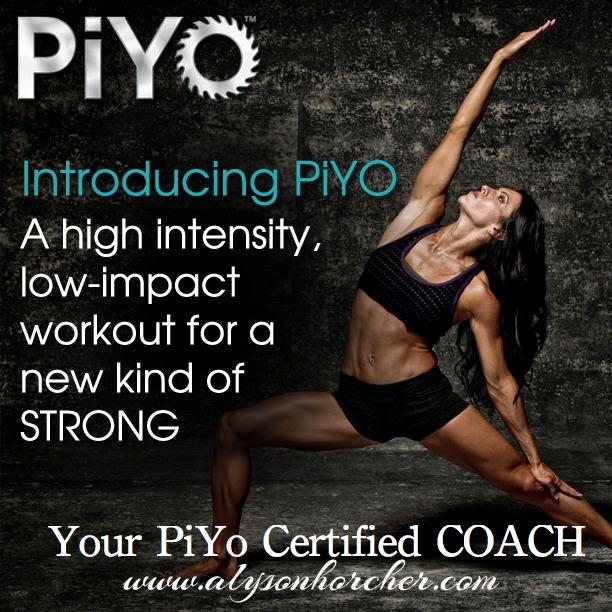 www.alysonhorcher.com, PiYo, PiYo Strength, Piyo Instructor, Piyo certified
