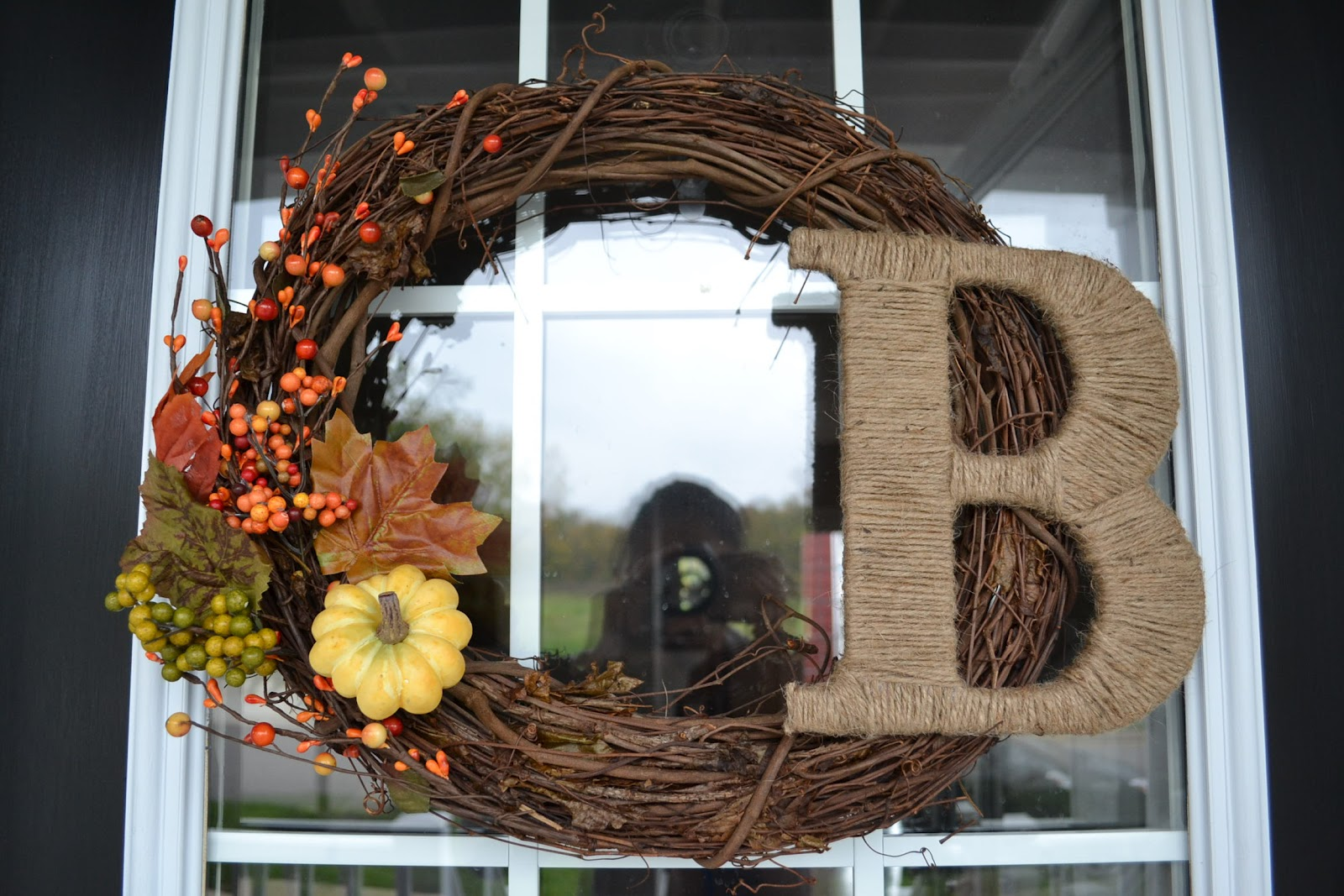 House Stuff Works Diy Natural Fall Wreath