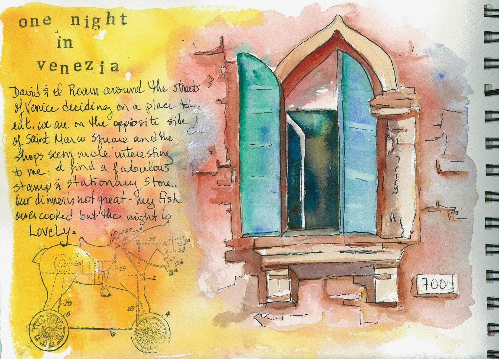 Art in my Heart, Jacqueline Newbold: Keeping a Watercolor Journal ...