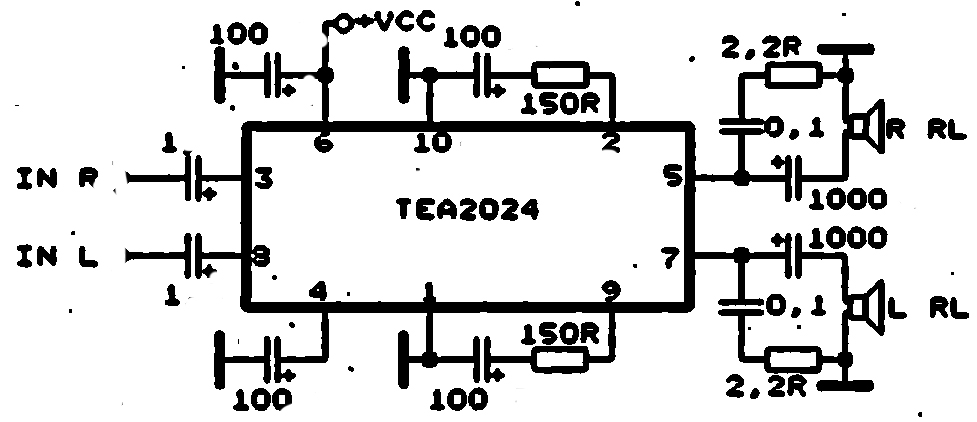 Pleasant Schematic Audio Amplifier With Ic Ic An272 Technical Wiring Diagram Wiring Cloud Favobieswglorg