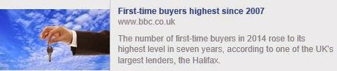 First-time buyers at highest level since 2007, says Halifax