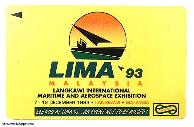 kad telefon awam uniphone - LIMA 93