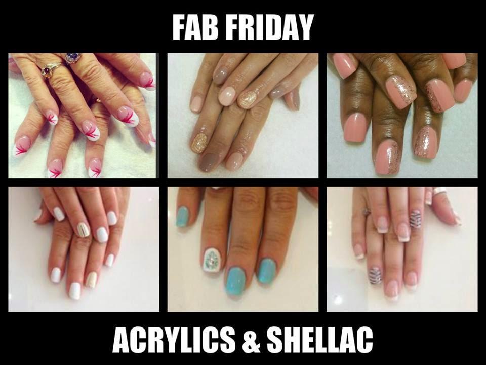 Shellac-classics-naturals-acrylics-white-blue-pink-stripes-stamping-nail-art