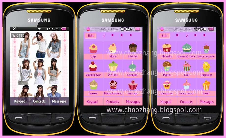 CORBY 2 THEMES: SNSD: Girls Generation V2 Theme by Corby Cat