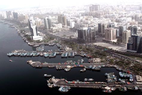 Dubai Creek will be linked to the Arabian Gulf by the canal project.