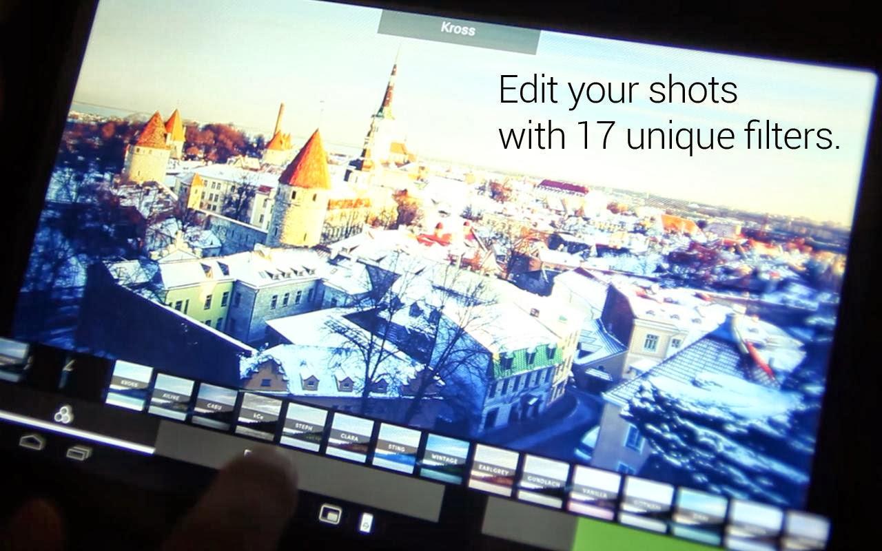 تطبيق مجانى لهواتف وأنظمة أندرويد لالتقاط وفلترة ومعالجة الصور EyeEm - Photo Filter Camera APK-3.8