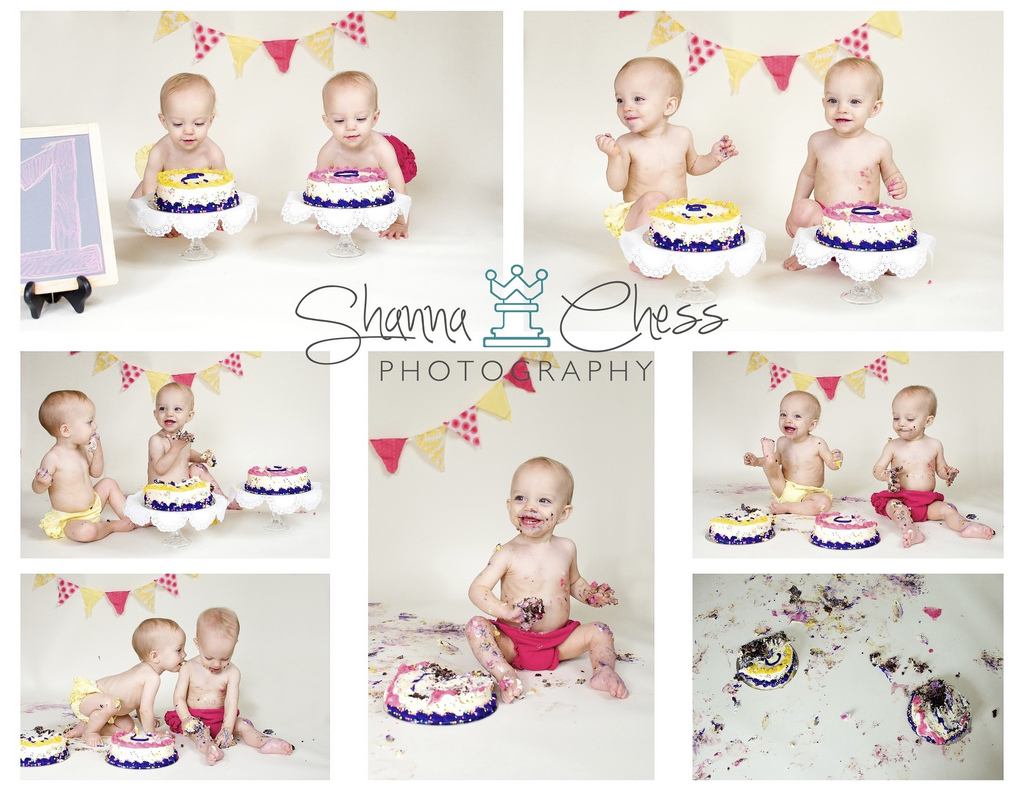 eugene, or baby photography cake smash