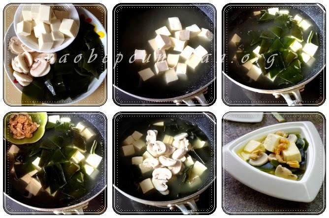 Cách nấu canh rong biển đậu hũ biến tấu thanh mát 2