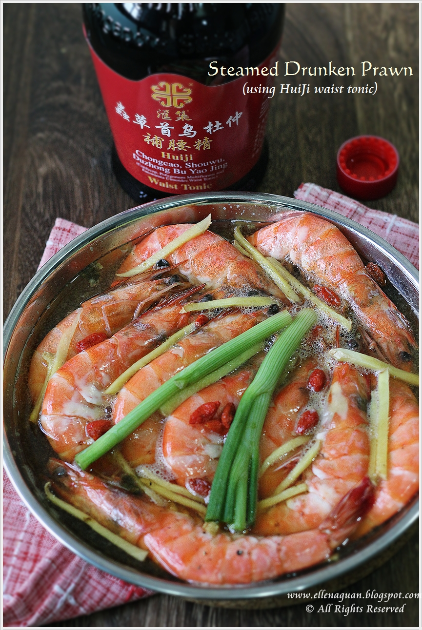 Cuisine paradise singapore food blog recipes reviews and travel steamed drunken prawns forumfinder Choice Image