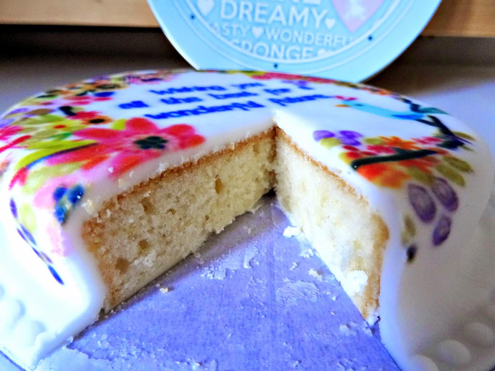 Cake for blog birthday