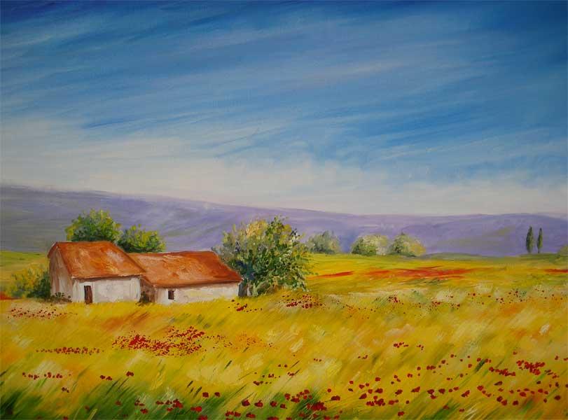 Dipinti su legno e su pietra: Dipinti ad olio su tela