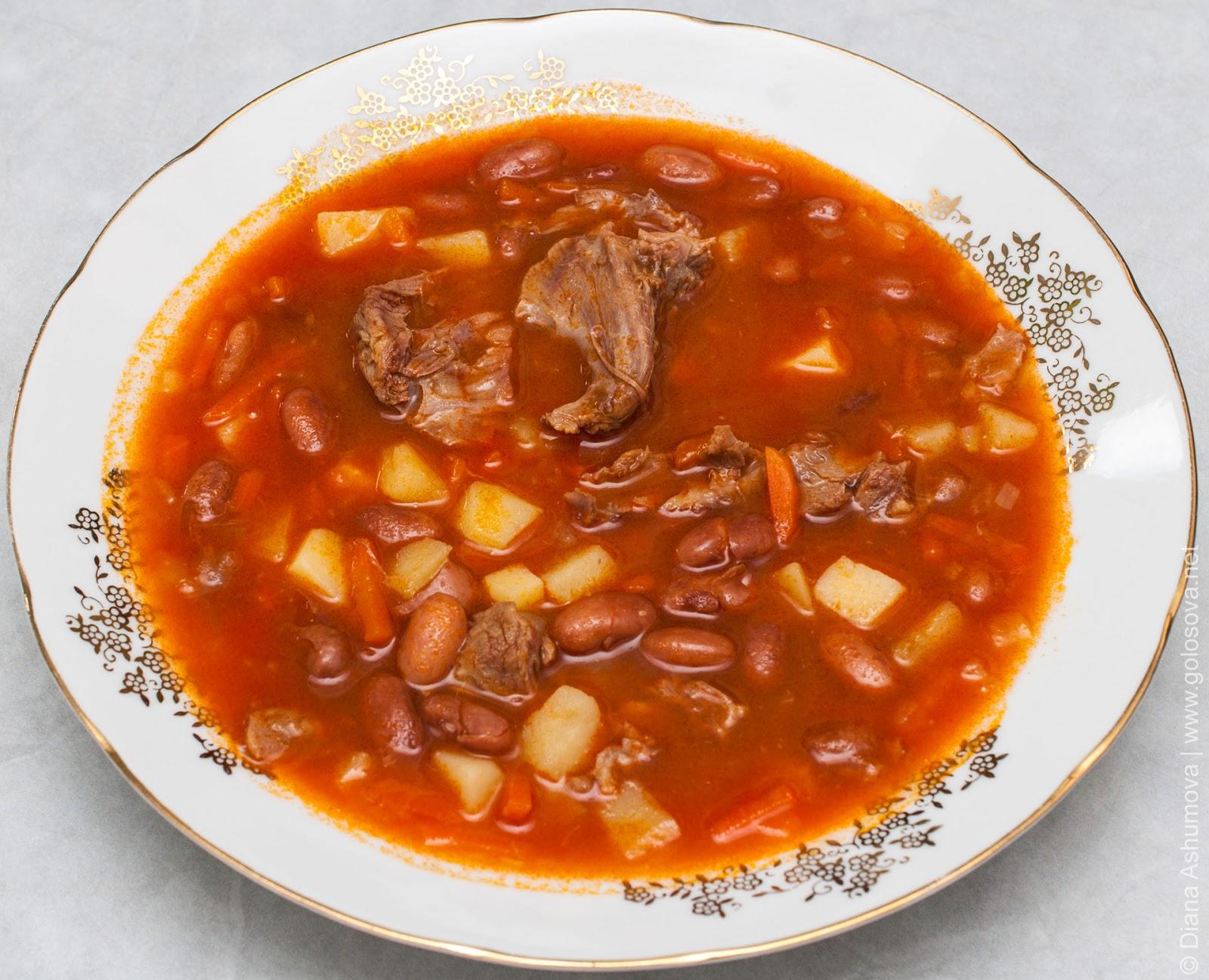 фасолевые супы рецепты