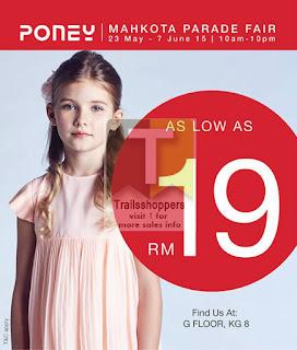 Poney malaysia melaka fair sale