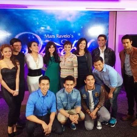 The cast of ABS-CBN Dyesebel