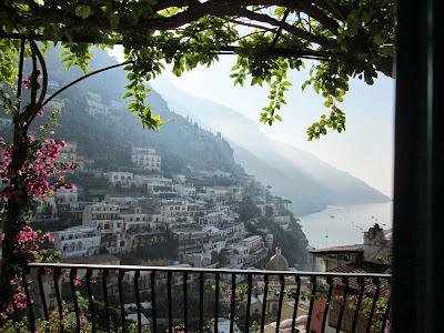 A Window upon Positano ..