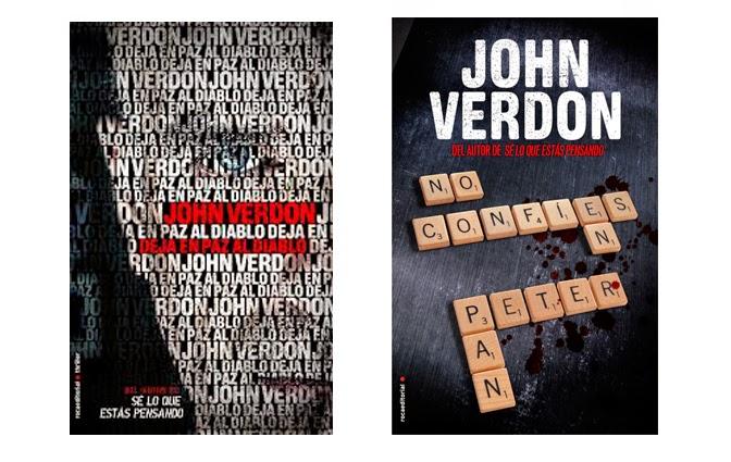 novelas john verdon