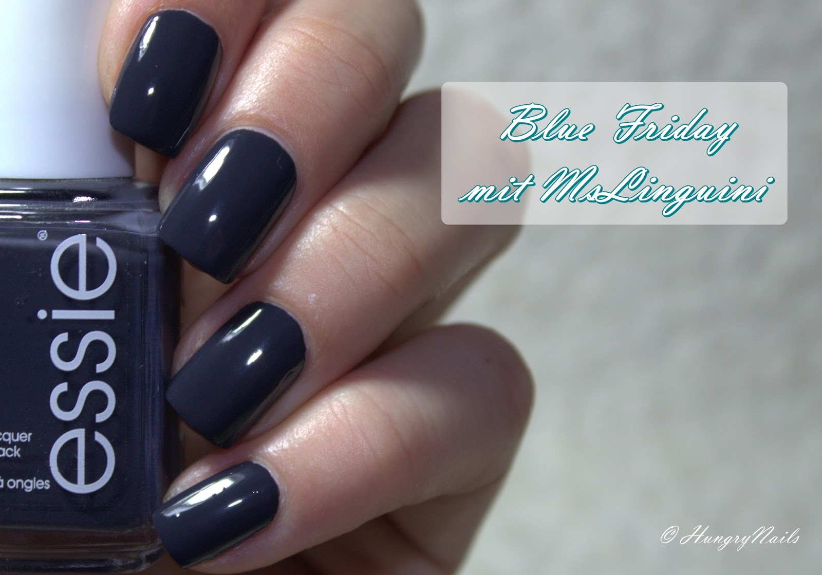 Blue Friday | essie bobbing for baubles - HungryNails Blog | Die ...