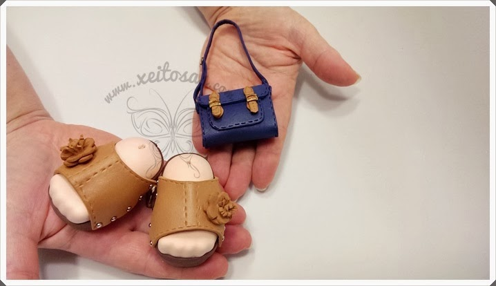 Como hacer sandalias para fofuchas - Imagui