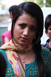 Trisha Krishnan Spotted at  Endrendrum Punnagai Movie Opening