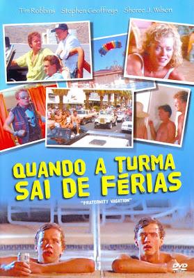 Filme Poster  Quando a Turma Sai de Férias DVDRip XviD Dublado