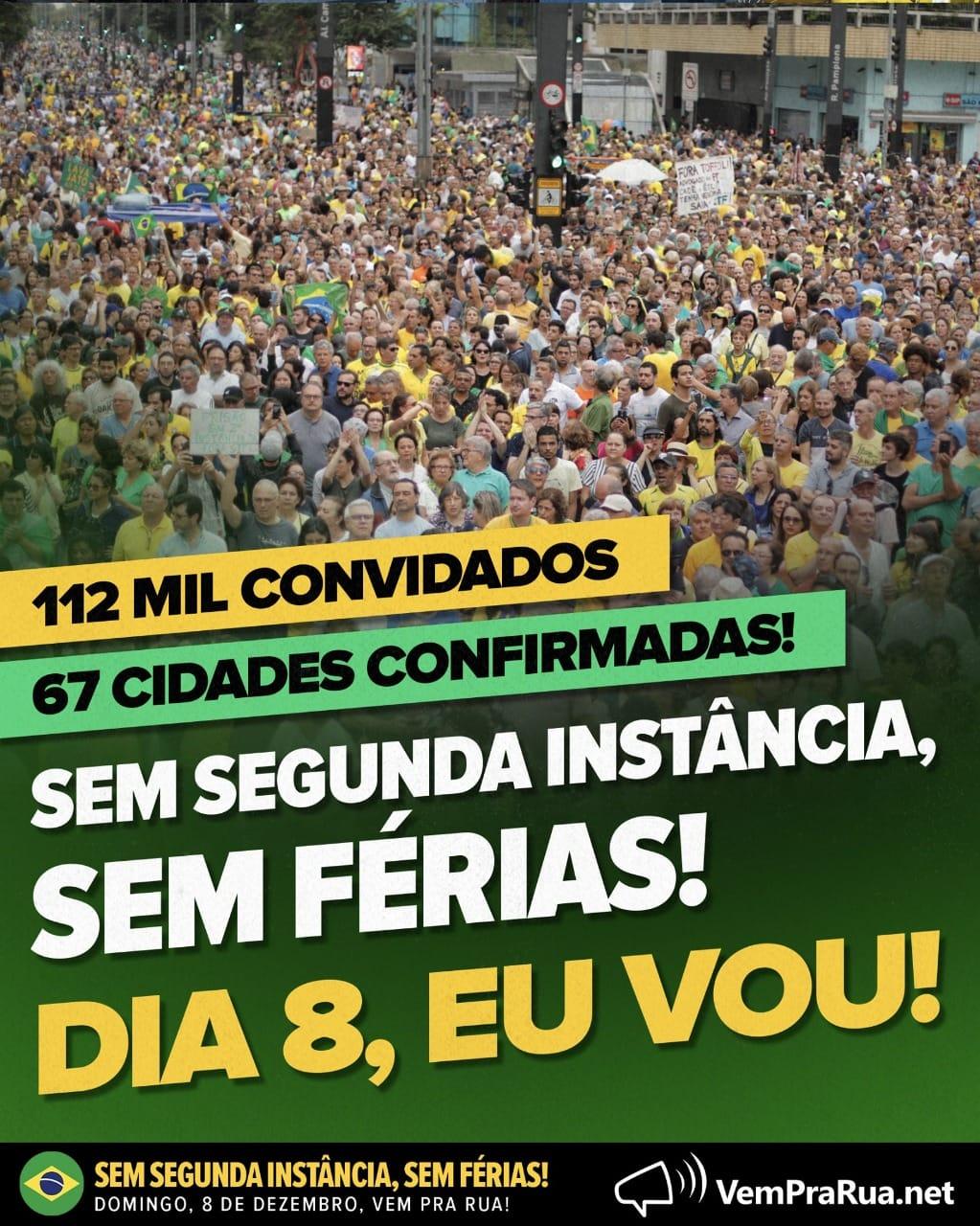 8 de dezembro: Brasil