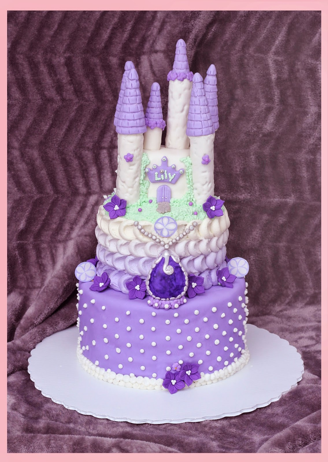 Treese Love Happiness Sofia The First Cake