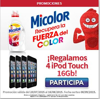 Sorteo Micolor iPod Touch