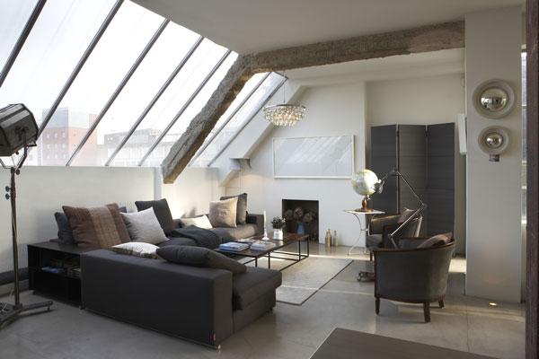 wunderkammer inspiration ein industrie loft in london. Black Bedroom Furniture Sets. Home Design Ideas