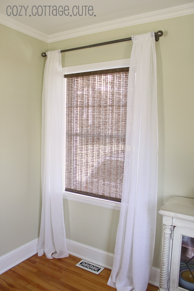 White linen curtains in Curtains & Drapes – Compare Prices, Read