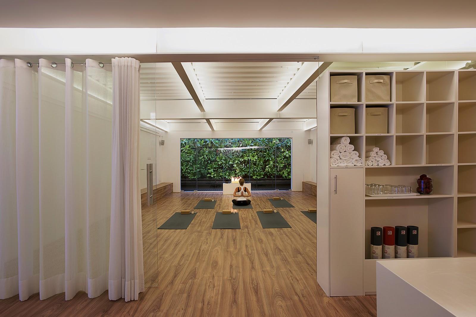 Planos low cost dise o de centro de yoga - Espacio para el yoga ...
