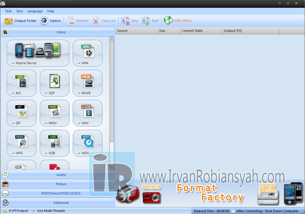 Download Format Factory 3.3.4 Full Version Terbaru