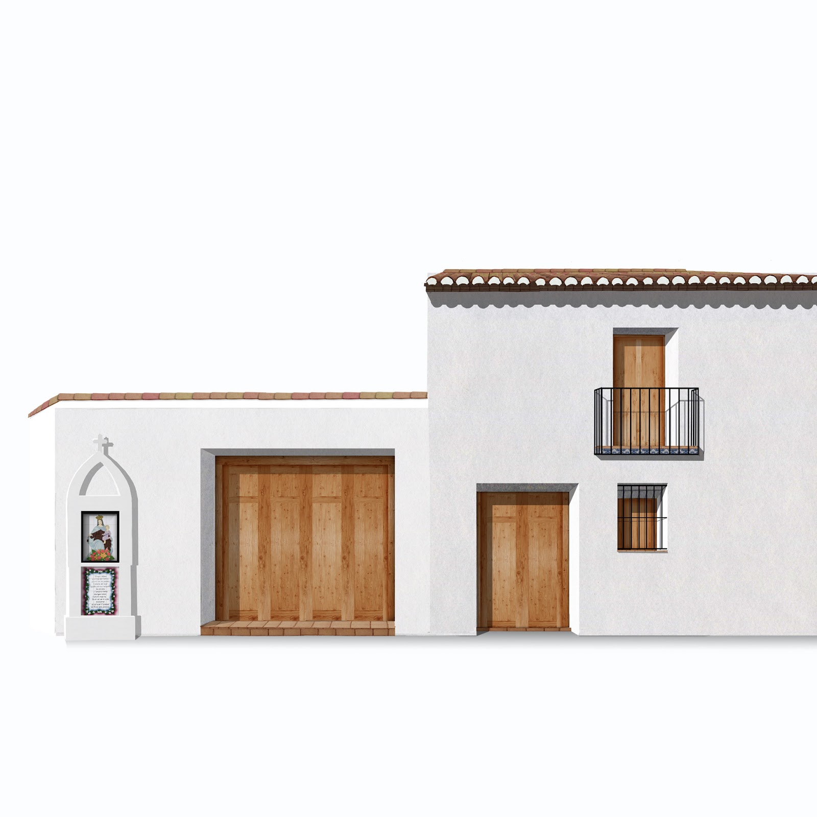 arquitectura tradicional.