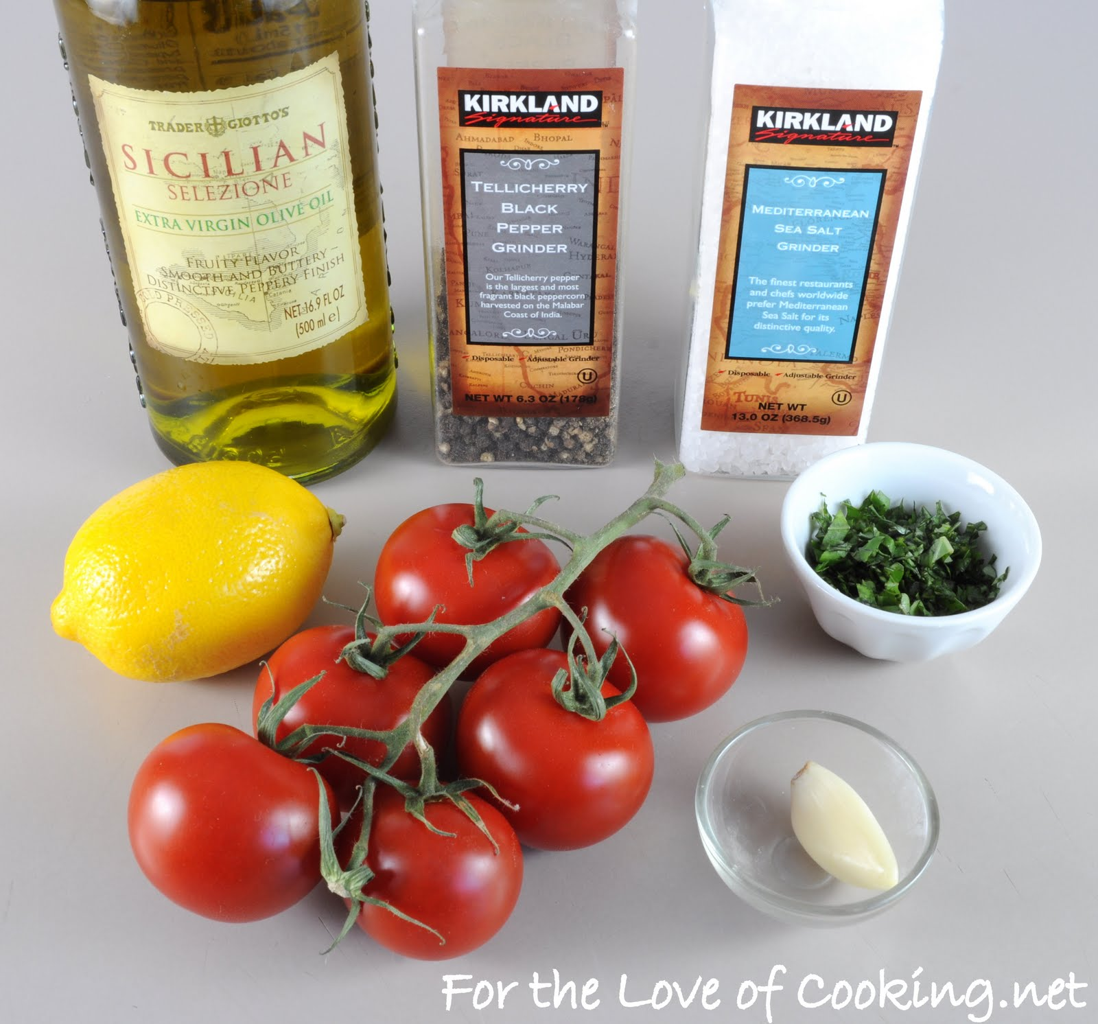 Grilled Tomatoes with Basil, Garlic, and Lemon | For the ...