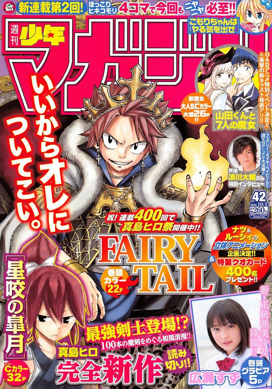 Fairy Tail 400 Mangá Português leitura online