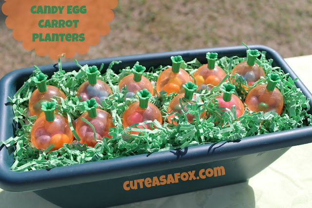 Cute As a Fox: Candy Egg Carrot Planters