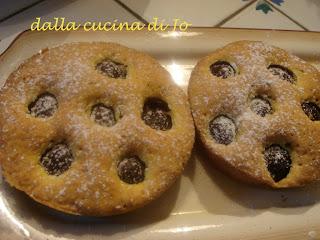 tortine di pasta maddalena alle ciliegie