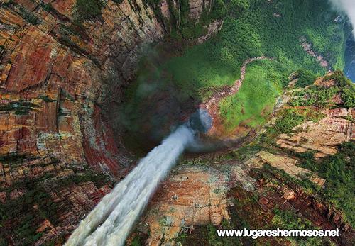 Churun-Meru (Dragon) Cascada, Venezuela
