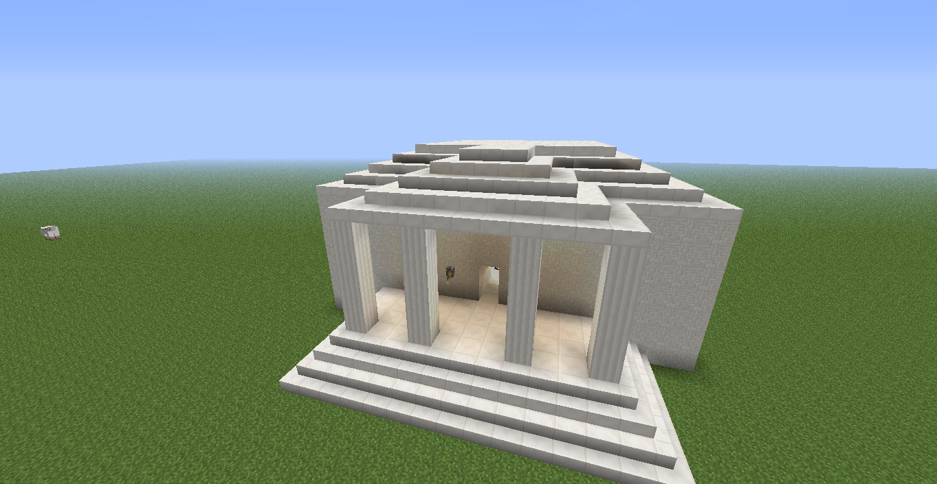 Greek Architecture Minecraft games people play