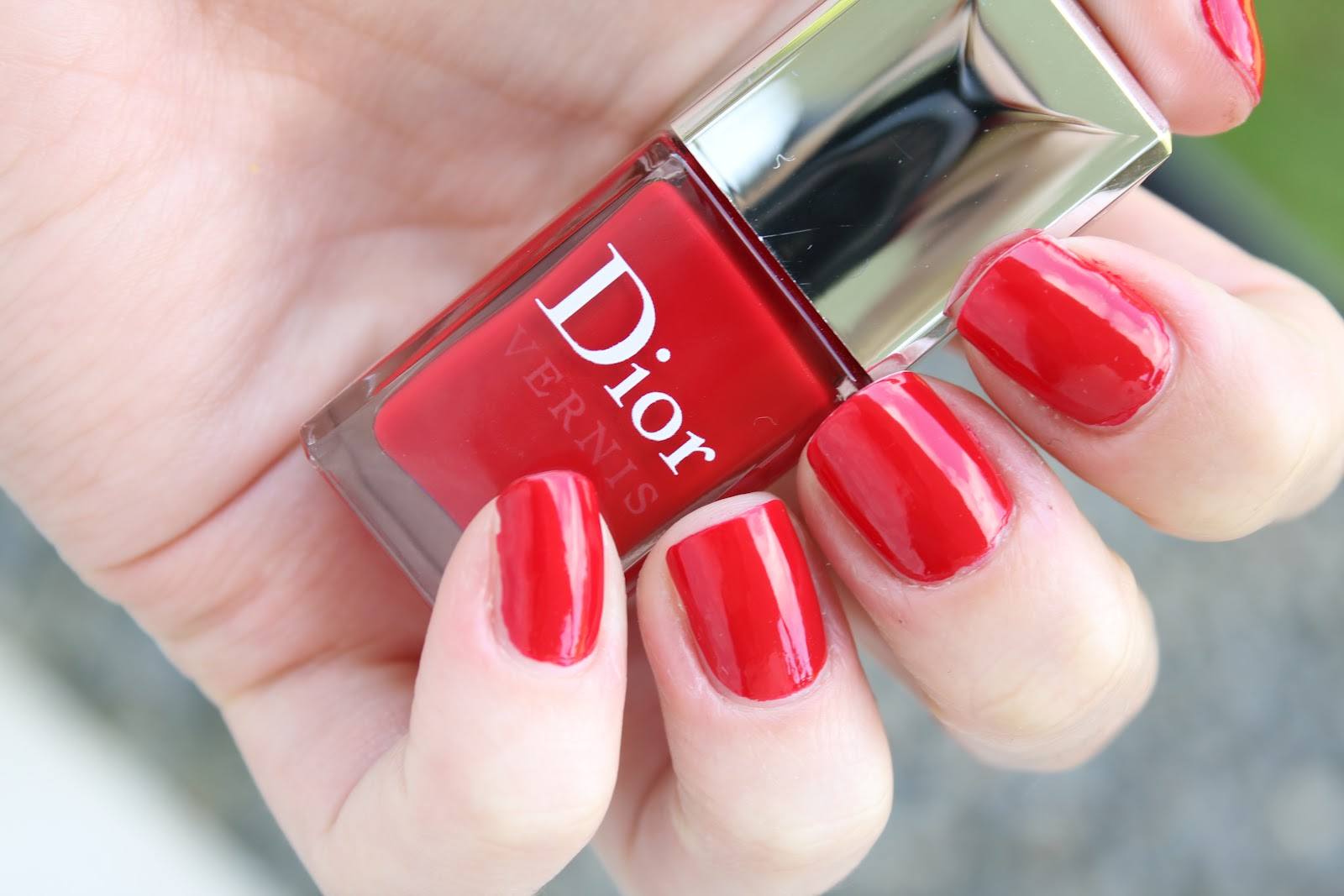 Dior Vernis In Rouge Altesse Or Red Royalty Review And Swatches