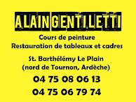 COURS DE PEINTURE / RESTAURATION DE TABLEAUX