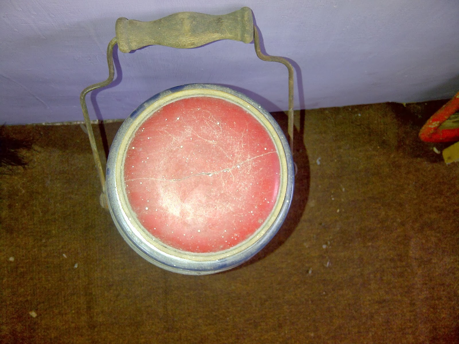 Koleksi Antik Anggoro Solo Termos Es Lilin Lawas