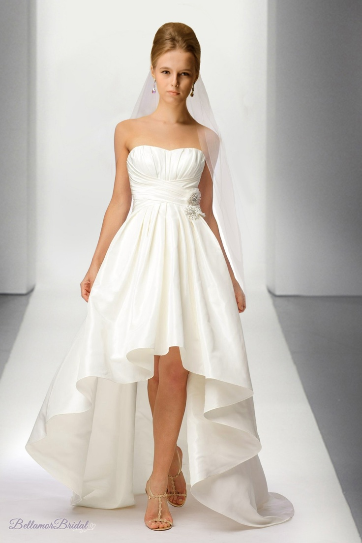 fashion trend of men women: Demanded High Low Wedding Gowns