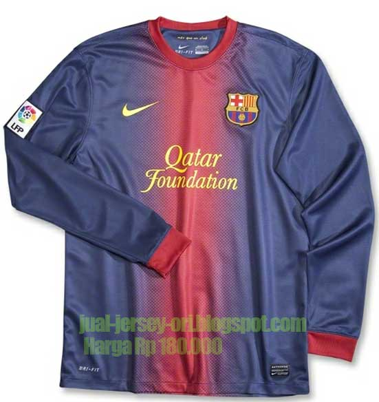 Jersey Barcelona Home Long-Slave 2012/2013