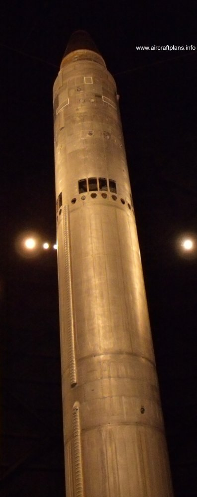 Titan II on display at the National Museum of the US Air Force.